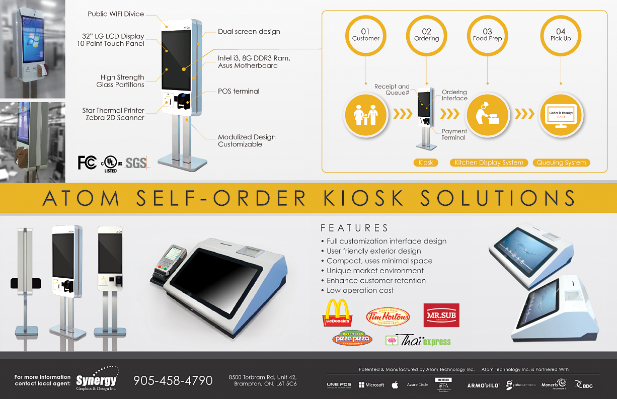 self serve kiosk solutions
